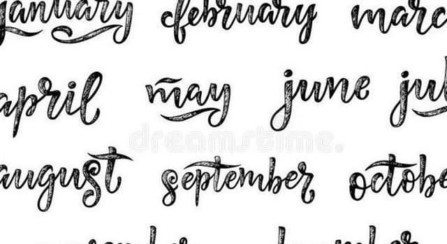 Historia Pregunta Trivia: ¿Quién le puso nombre a los meses del año?