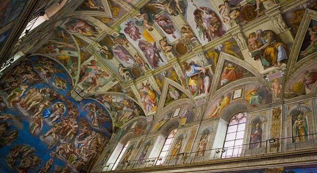 Cultura Pregunta Trivia: ¿Quién pintó el techo de la Capilla Sixtina?