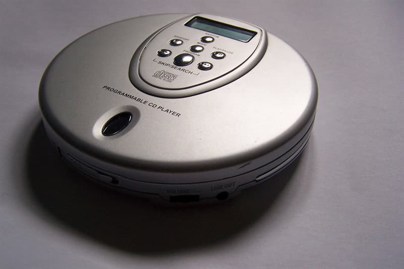 History Trivia Question: The world's first portable CD player was introduced by which company?