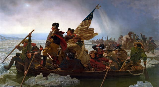 History Trivia Question: Why did General George Washington cross the Delaware River at night on 25 December 1776?