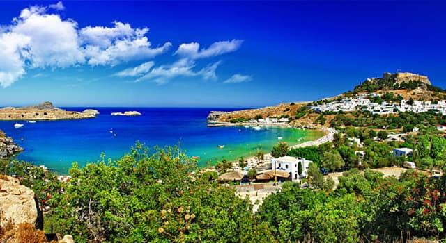 Geografía Pregunta Trivia: ¿A qué país pertenece la isla de Rodas?