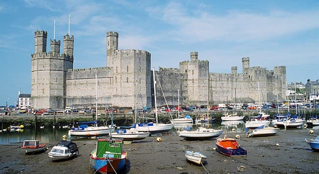 History Trivia Question: As of 2018, how many castles are believed to have been built in the country of Wales?