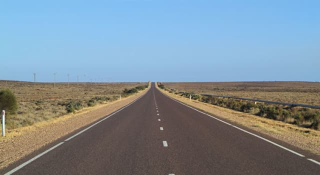 Geography Trivia Question: As of 2018, which country has the longest drivable national highway in the world?