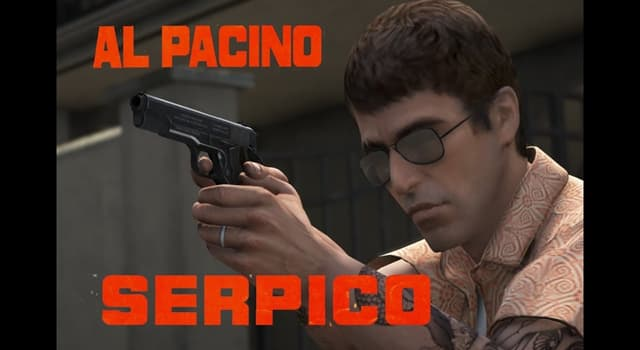 """Movies & TV Trivia Question: At the end of the 1973 movie """"Serpico"""", what does Serpico do?"""