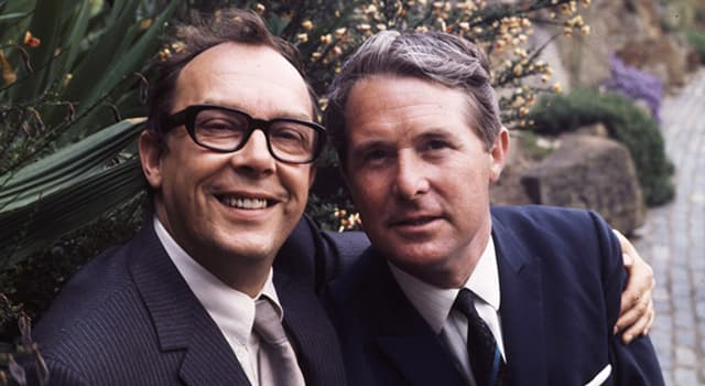 Culture Trivia Question: From which theatre was the English comedian Eric Morecambe leaving (after performing there) when he collapsed and died from a heart attack?