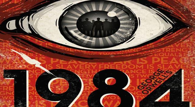"""Cultura Pregunta Trivia: ¿Cómo se denomina el género narrativo de """"1984""""?"""