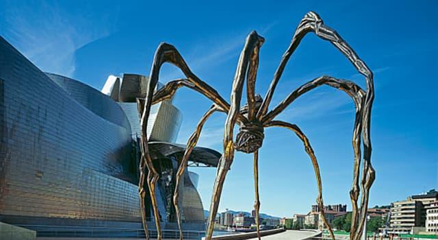 Cultura Pregunta Trivia: ¿Cómo se denomina la escultura que muestra la imagen, obra de una artista francesa?