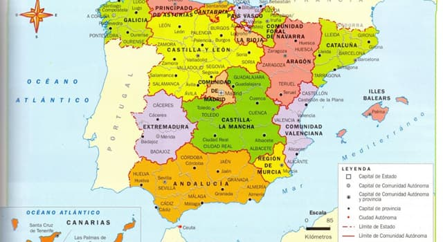 Geografía Pregunta Trivia: ¿Con cuántos países limita España?