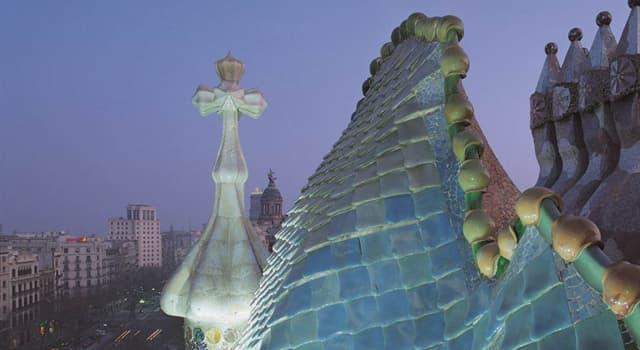 Cultura Pregunta Trivia: ¿Cuál de las siguientes construcciones de Barcelona  no es obra de Antonio Gaudí?