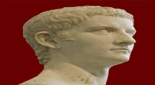 Historia Pregunta Trivia: ¿Cuál era el nombre real del Emperador Calígula?