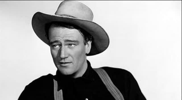 Películas y TV Pregunta Trivia: ¿Cuál era el verdadero nombre del actor John Wayne?