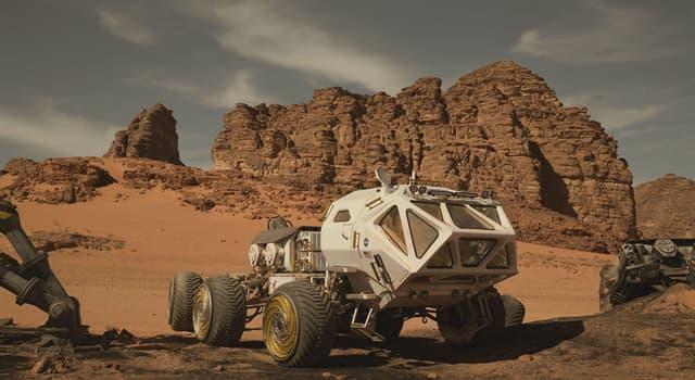 Historia Pregunta Trivia: ¿Cuál es el nombre del primer vehículo explorador (rover) en recorrer la superficie de Marte?
