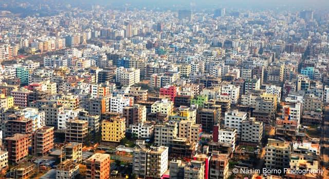 Geografía Pregunta Trivia: ¿Cuál es la capital de Bangladés?