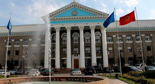 Geografía Pregunta Trivia: ¿Cuál es la capital de Kirguistán?
