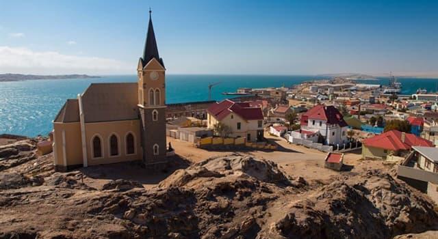 Geografía Pregunta Trivia: ¿Cuál es la capital de Namibia?