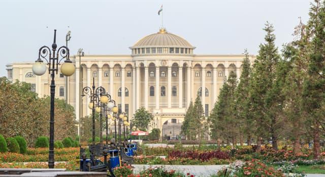 Geografía Pregunta Trivia: ¿Cuál es la capital de Tayikistán?