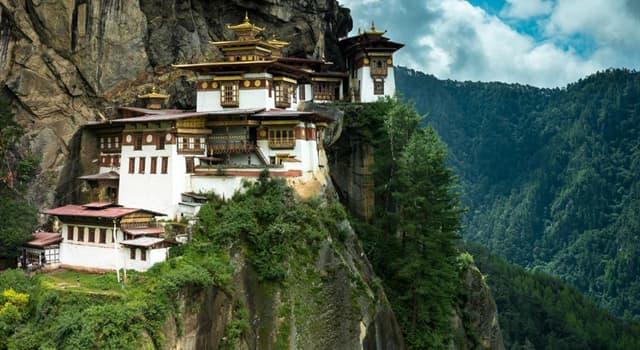 Geografía Pregunta Trivia: ¿Cuál es la capital del Reino de Bután?