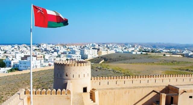 Geografía Pregunta Trivia: ¿Cuál es la capital del Sultanato de Omán?