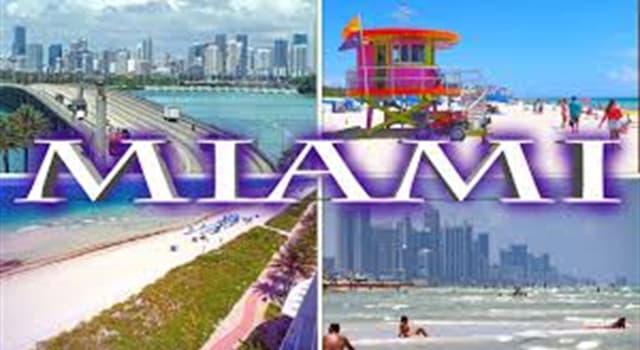 Geografía Pregunta Trivia: ¿Cuál fue el primer país latinoamericano en tener una calle con su nombre en Miami?