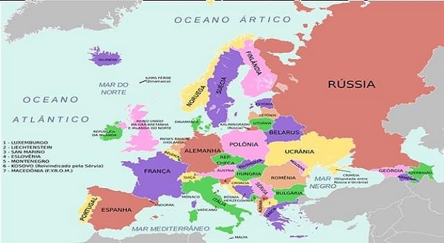 Geografía Pregunta Trivia: ¿Cuáles países forman la Península escandinava?