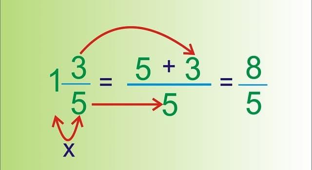 Cultura Pregunta Trivia: ¿Cuáles son las fracciones impropias?