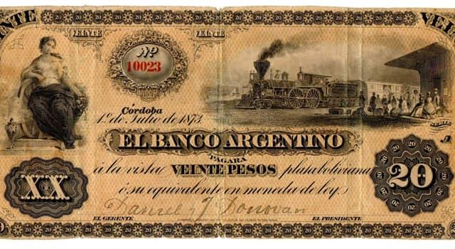 Historia Pregunta Trivia: ¿Cuántas veces la República Argentina cambió su moneda desde 1881?