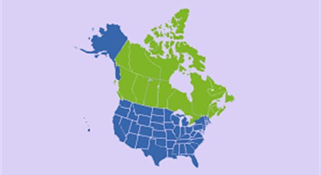 Geografía Pregunta Trivia: ¿Cuántos de los 50 estados de Estados Unidos tienen frontera (terrestre o lacustre) con Canadá?