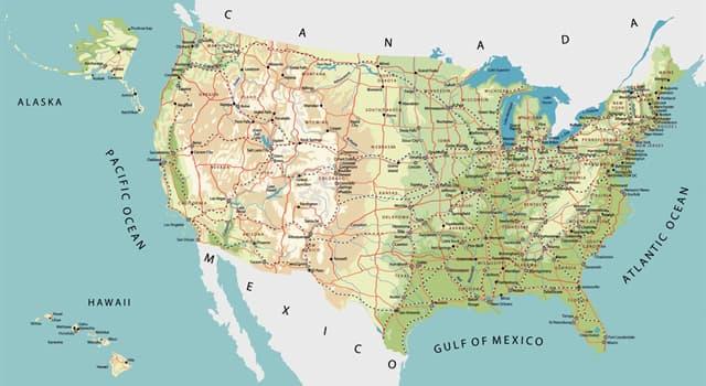 Geografía Pregunta Trivia: ¿Cuántos estados tiene EE. UU.?