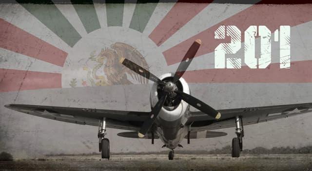 Historia Pregunta Trivia: ¿Cuántos pilotos mexicanos participaron en la 2a Guerra Mundial?