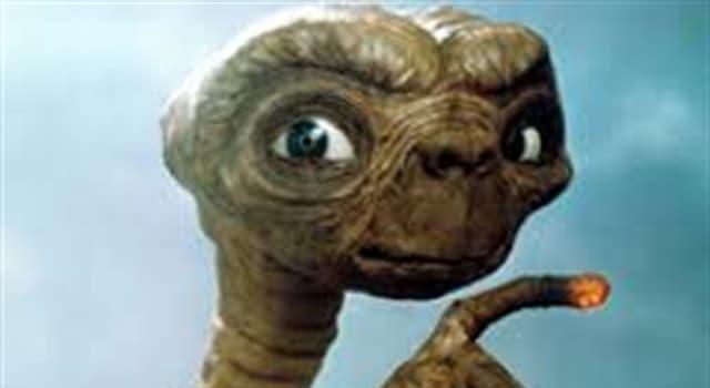 Películas y TV Pregunta Trivia: ¿De qué planeta o galaxia provenía el personaje extraterrestre del film E.T. de Spielberg?