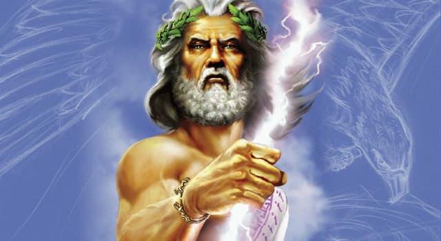 Cultura Pregunta Trivia: ¿Dónde moraba Zeus?
