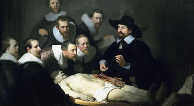 Cultura Pregunta Trivia: ¿En qué siglo vivió el pintor Rembrandt?