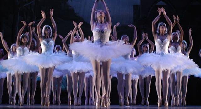 Cultura Pregunta Trivia: ¿En qué año se representó por primera vez el ballet El lago de los cisnes?