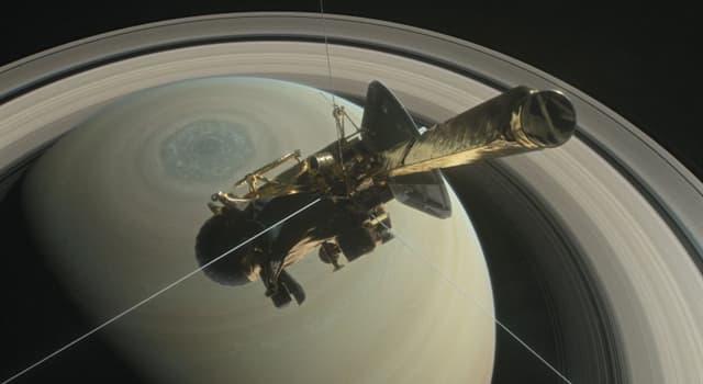 Сiencia Pregunta Trivia: ¿En qué año tuvo lugar el lanzamiento del proyecto Cassini-Huygens, misión Saturno?