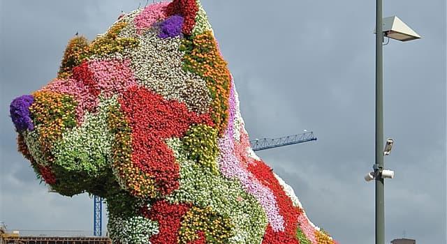 Cultura Trivia: ¿En qué ciudad se encuentra permanentemente la escultura floral de la imagen?
