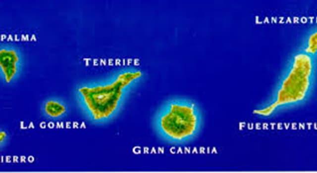 Geografía Pregunta Trivia: ¿En qué mar u océano se encuentran las Islas Canarias?