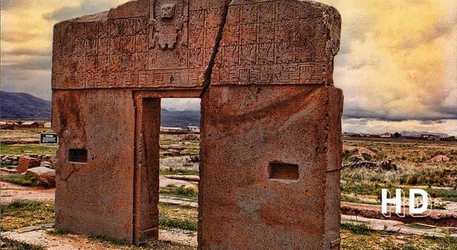 Cultura Pregunta Trivia: ¿En qué país está la Puerta del Sol de Tiahuanaco o Tiwanaku?