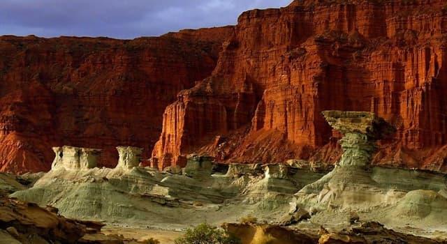 Geografía Pregunta Trivia: ¿En qué país se encuentra el Parque Nacional Talampaya?