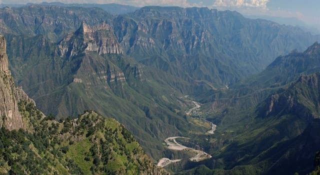 Geografía Pregunta Trivia: ¿En qué país se encuentran las Barrancas del Cobre?