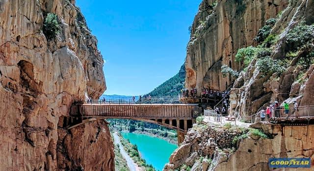 Geografía Pregunta Trivia: ¿En qué provincia de España se encuentra el caminito del Rey?