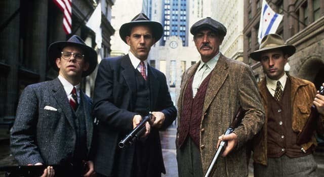 History Trivia Question: How many agents, including Eliot Ness the leader, were originally in the U.S. law enforcement team known as 'The Untouchables'?