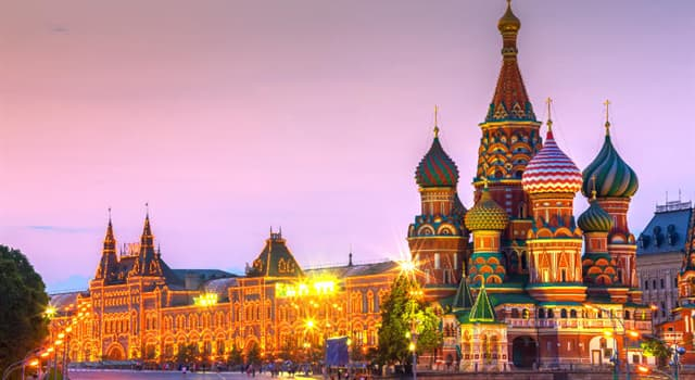 Geography Trivia Question: In which city is Red Square?