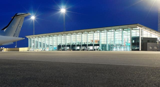 Geography Trivia Question: In which country is Aalborg airport?