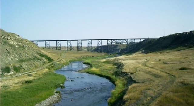 Geography Trivia Question: In which U.S. state would you find the Marias River?