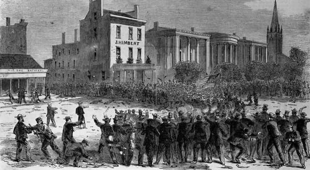 History Trivia Question: In which year did the first of the horrific 'New Orleans massacres' take place?