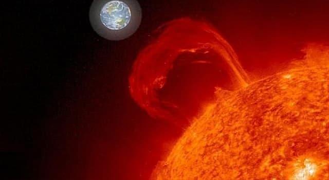 Сiencia Pregunta Trivia: ¿Por qué partículas está compuesto el viento solar?