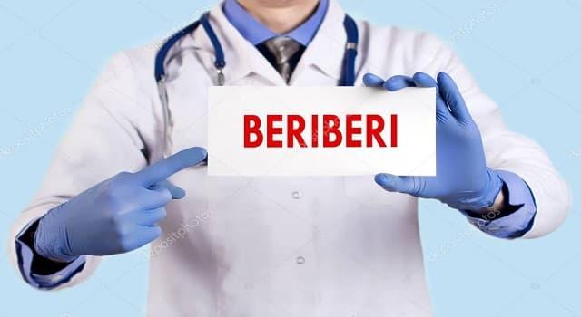 Сiencia Pregunta Trivia: ¿Qué es el beriberi?