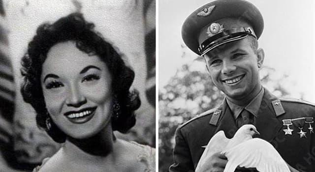 Sociedad Pregunta Trivia: ¿Qué hecho especial demuestra la gran admiración que tuvo el astronauta soviético Yuri Gagarin por la cantante y actriz argentina Lolita Torres?