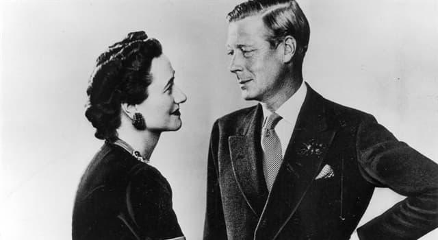 Historia Pregunta Trivia: ¿Qué monarca británico abdicó al trono por amor?