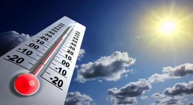 Сiencia Pregunta Trivia: ¿Qué parámetro define la cantidad de frío o calor que tiene un cuerpo o su entorno?
